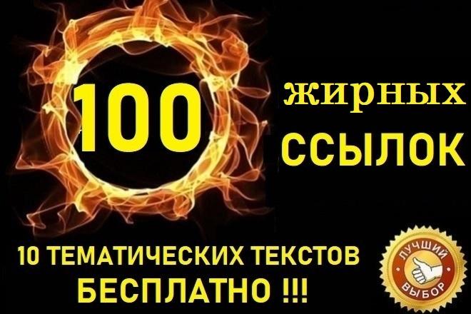 100 жирных ссылок